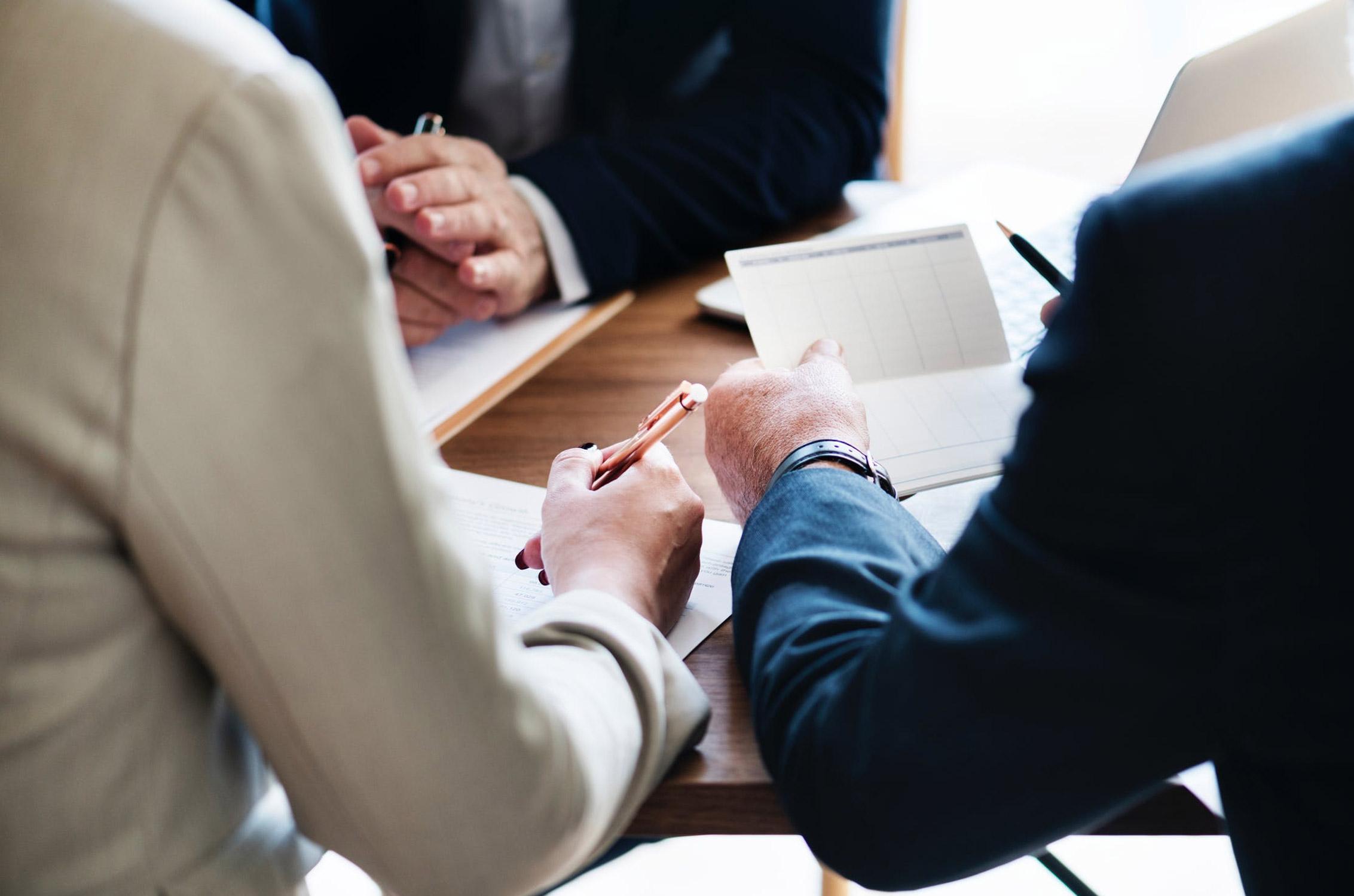 Imagem de consultor em apoio fiscal a empreendedor